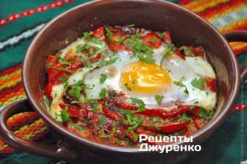 Фото рецепта брынза с помидорами