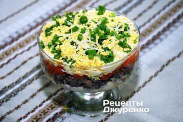 Рибний салат подається як холодна закуска