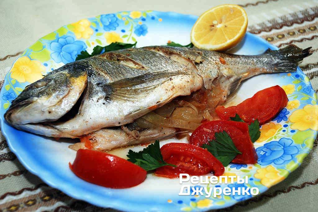 дорадо рыба рецепты в духовке в фольге с