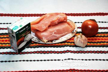 Ингредиенты: курица, овощи и кокосовое молоко