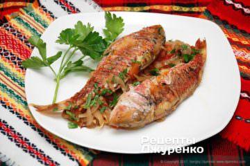 султанка з овочами