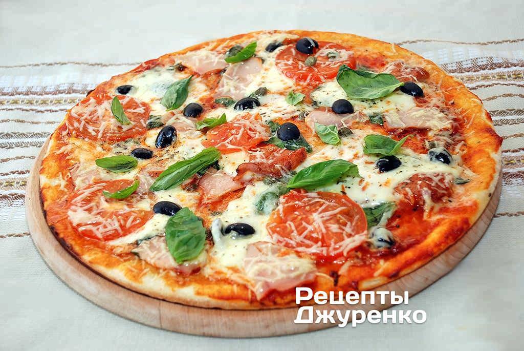 Рецепт пиццы в духовке быстро и просто пошагово и
