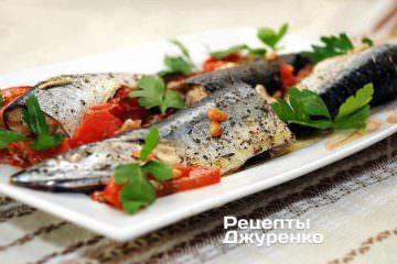 Фото рецепта риба з горіхами