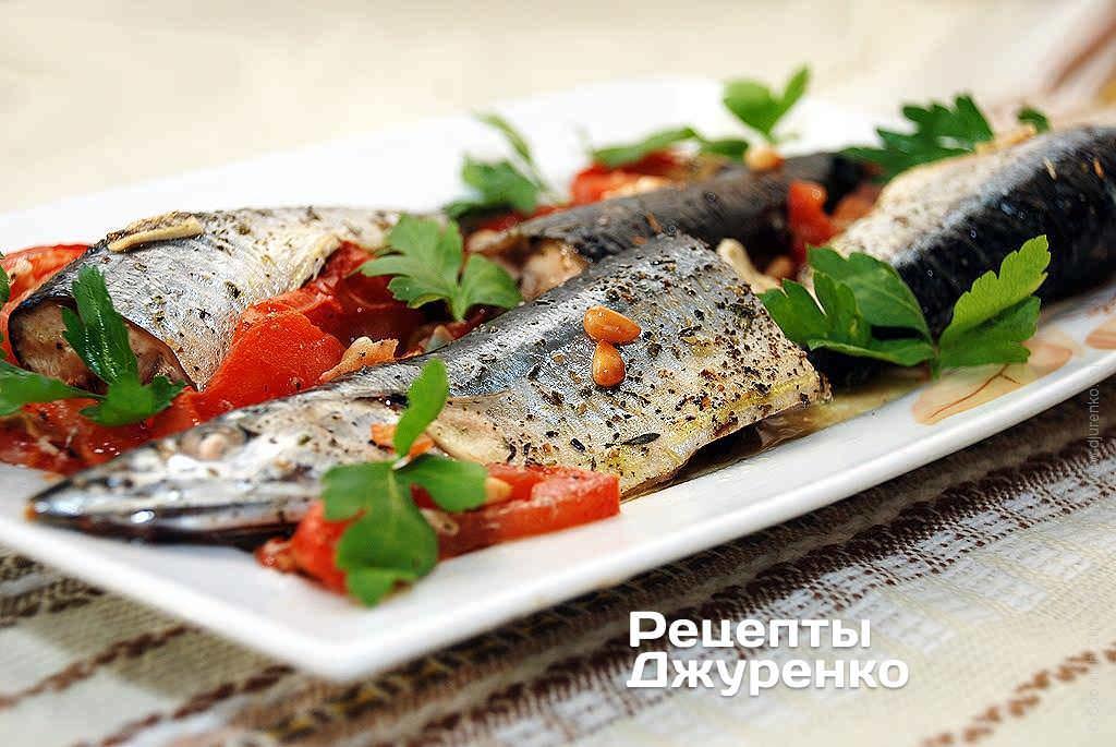 Риба з горіхами