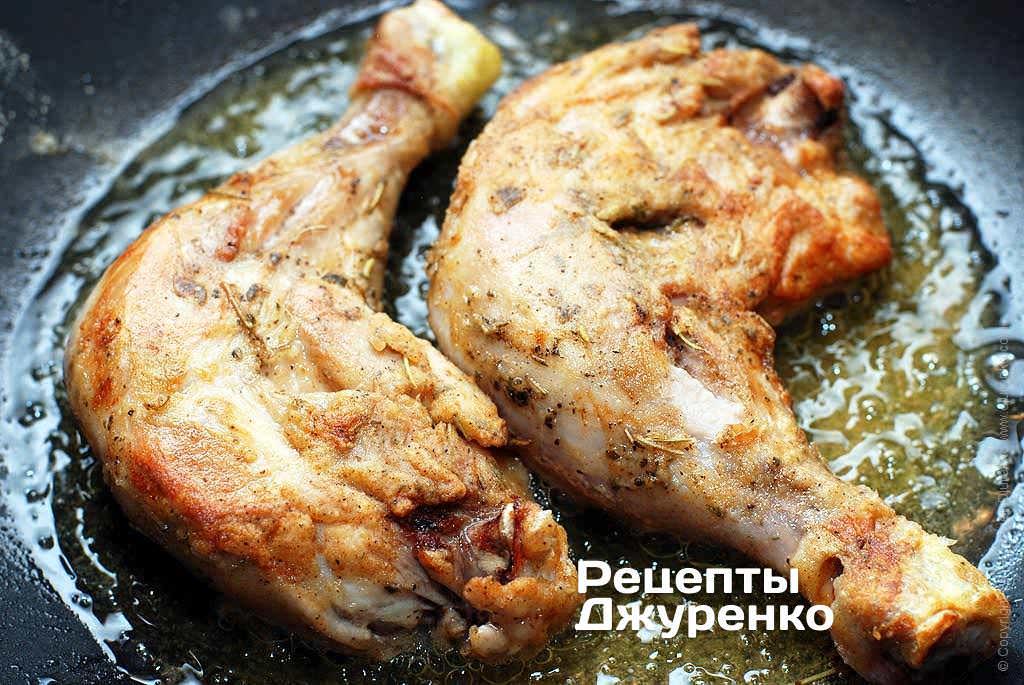 Как вкусно приготовить куриные ножки на сковороде
