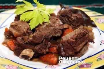 Тушкована яловичина