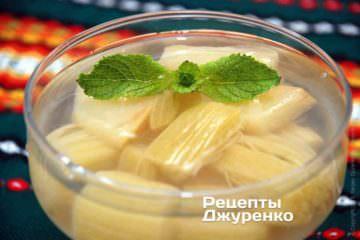 Фото рецепта компот з ревеню