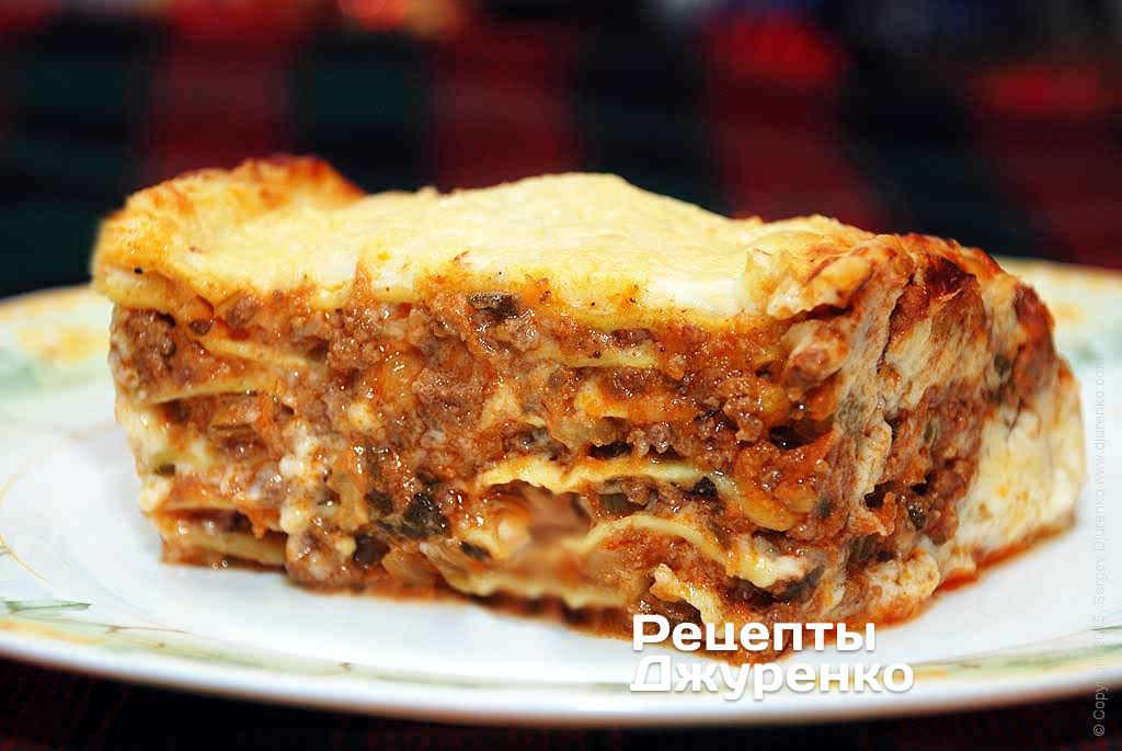 Лазанья соус болоньез рецепт 127