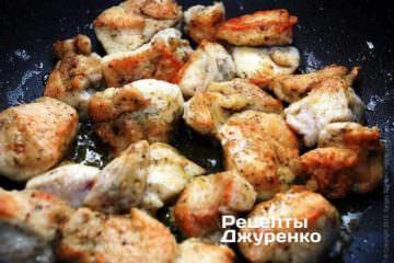 Румяное куриное филе