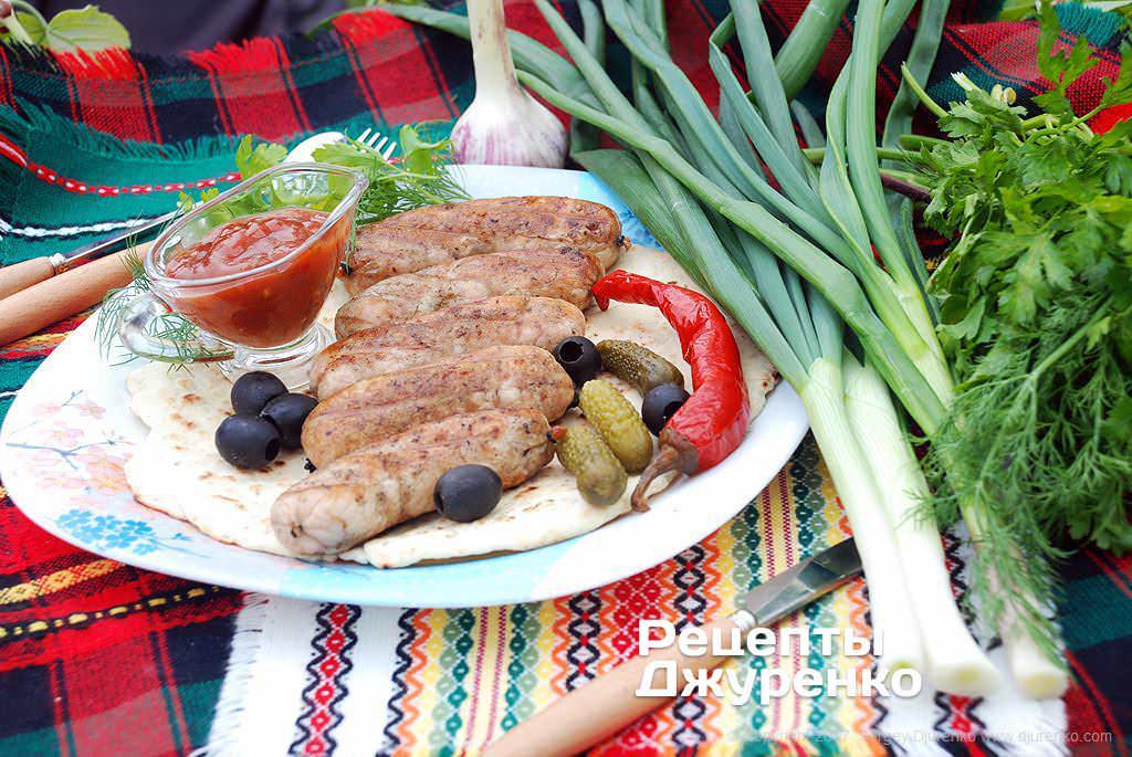 домашние колбаски фото рецепта