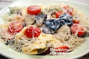 Фото рецепта паста в вершковому соусі