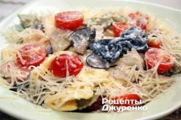 Фото рецепта паста в сливочном соусе