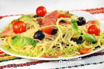 спагетти с ветчиной, спагетти с ветчиной и сыром, спагетти с ветчиной рецепт, спагетти рецепт, как приготовить спагетти, как варить спагетти, спагетти рецепты с фото, вкусные спагетти, спагетти с помидорами, спагетти сколько варить