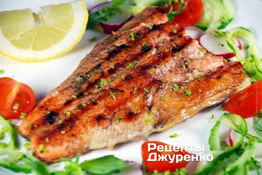 Как приготовить рыбу форель вкусно