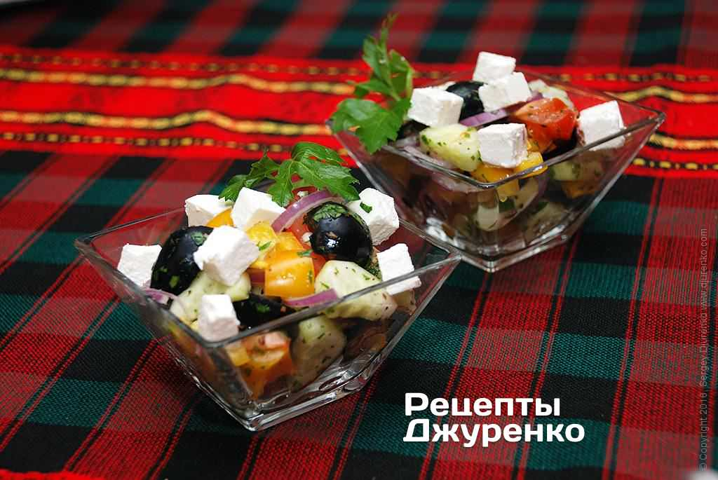 греческий салат фото рецепта