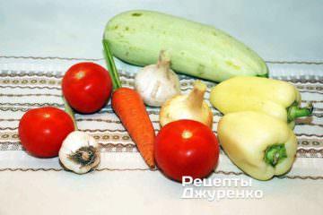 Сезонные овощи для овощной лазаньи