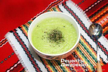 суп з кабачківв