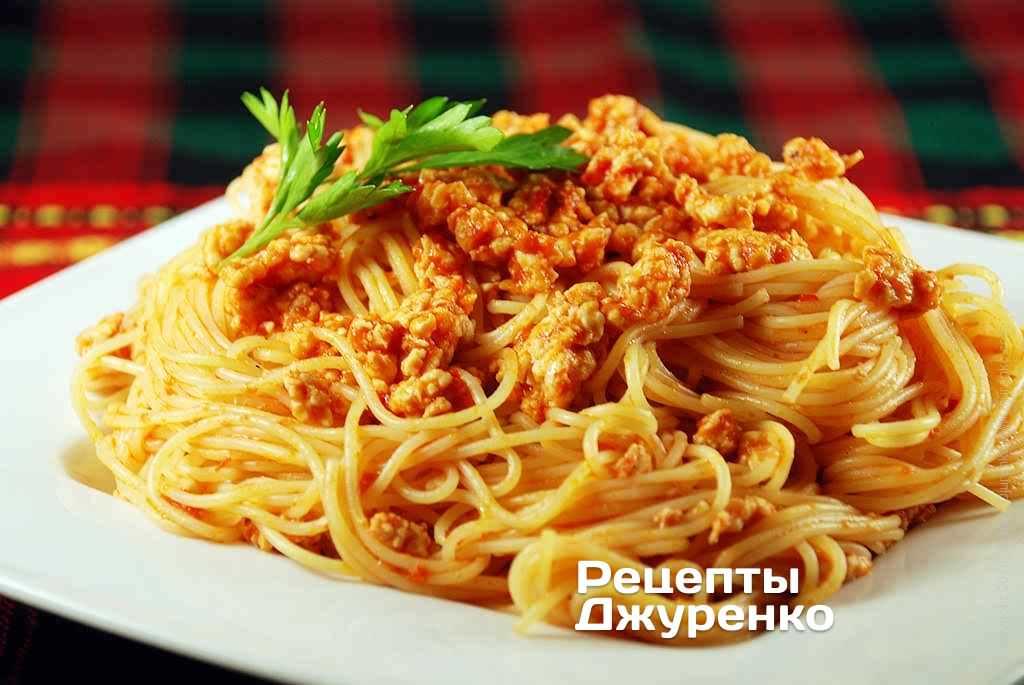 как сделать пасту спагетти рецепты