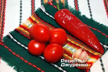 Овощи для томатного соуса