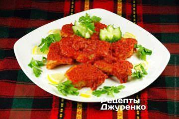 Риба в томаті