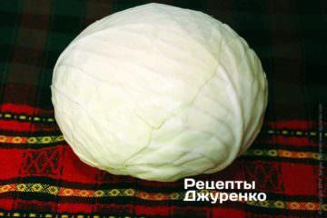 Білокачанна капуста