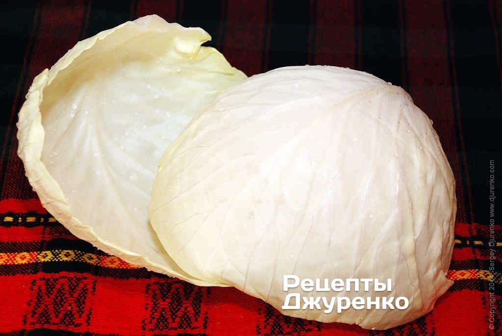 капуста для голубців фото рецепту