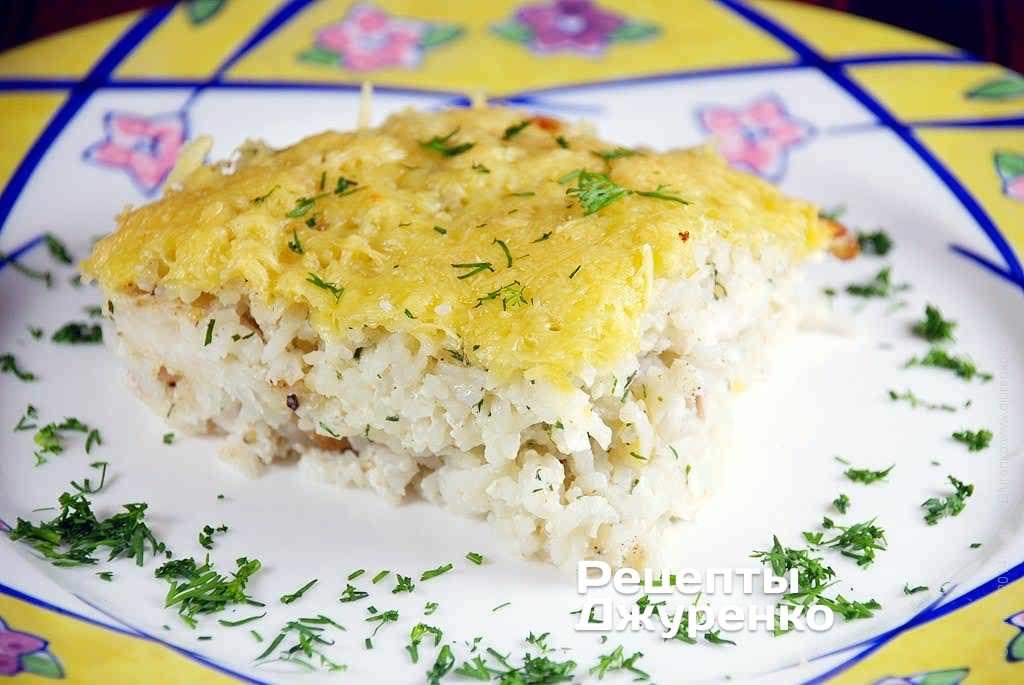 рисовая запеканка фото рецепта