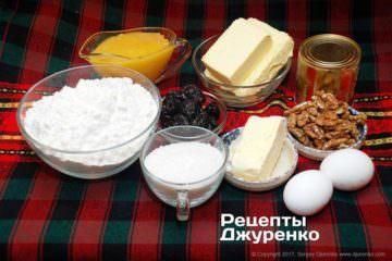 інгредієнти для торта