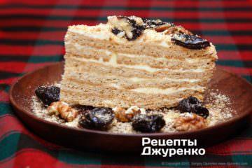 Фото рецепта торт рижик