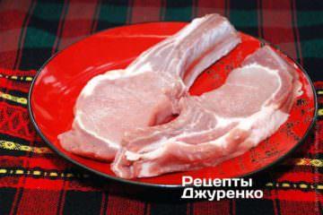 Свинина на ребре