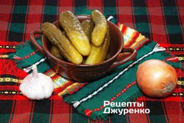 Квашеные домашние огурцы для закуски