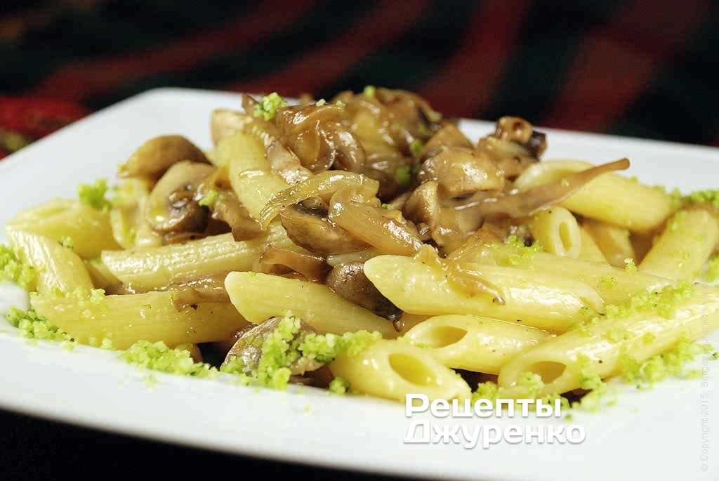 паста з грибами фото рецепту
