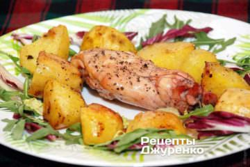 Кролик з картоплею