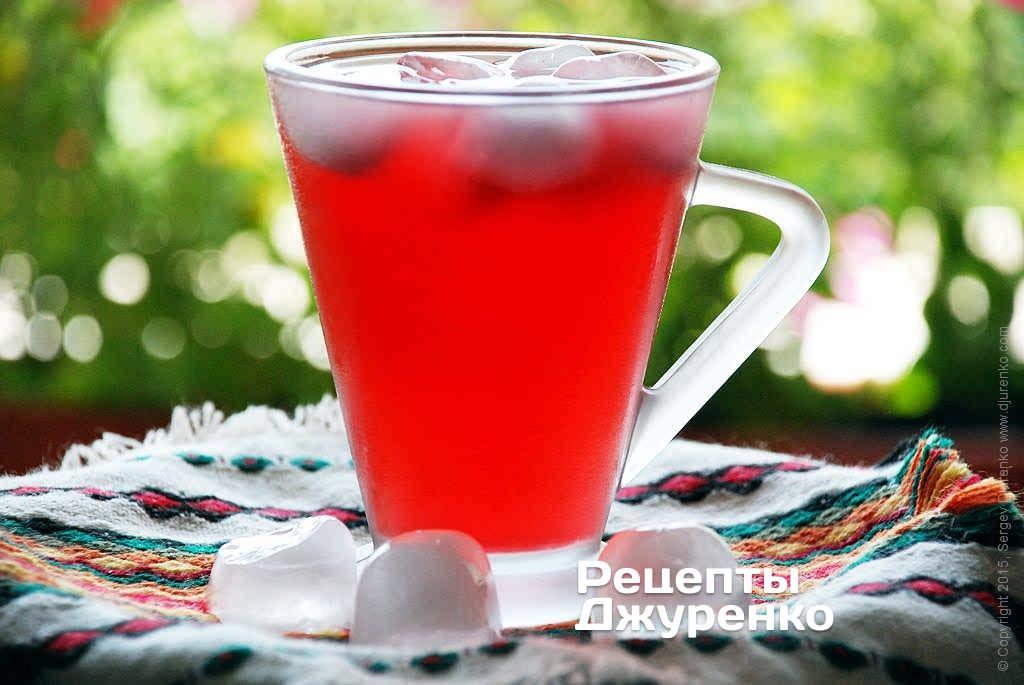 чай-прохладительный напиток- рецепт