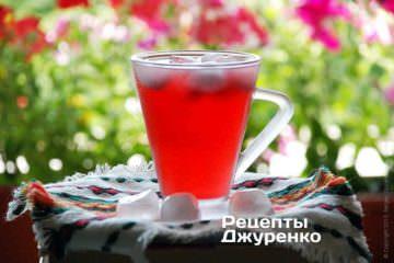 Фото рецепта каркаде — освежающий напиток