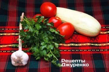 Овочі та зелень