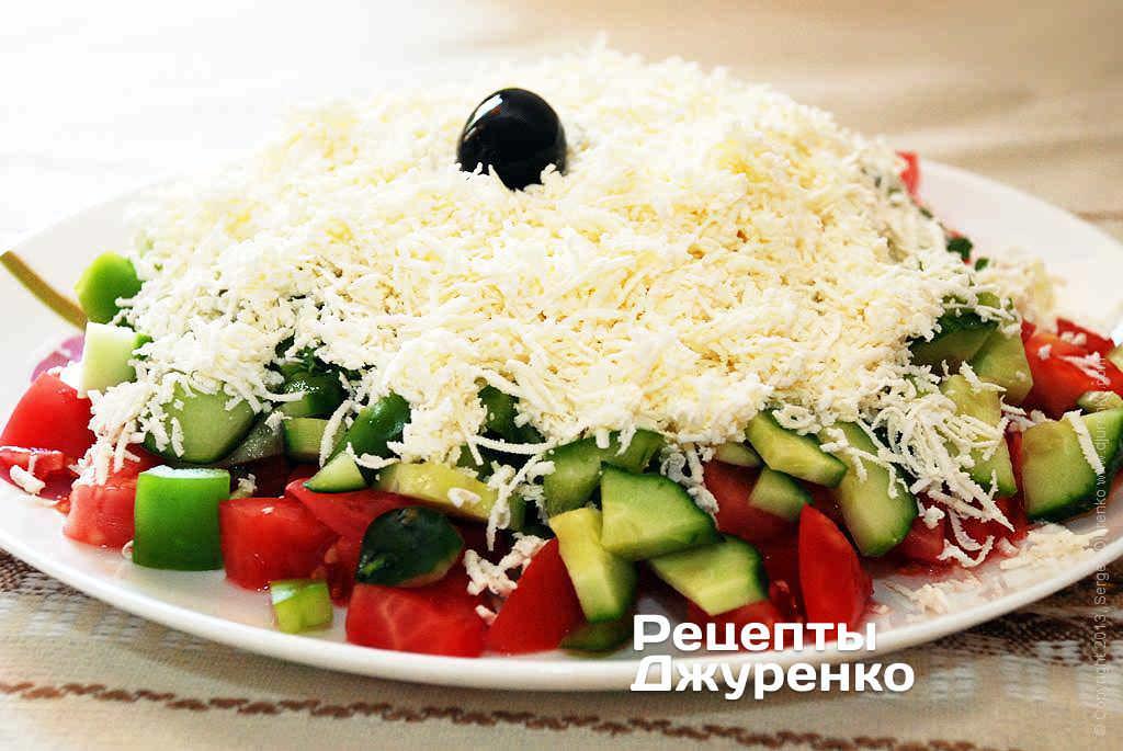 шопський салат фото рецепту