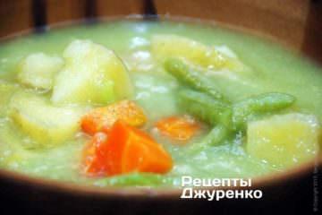 Суп-пюре с овощами — готов