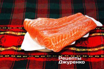 Филе семги (лосось, форель)