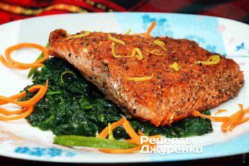 Фото рецепта рыба нагриле