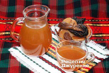 Фото рецепта компот из сухофруктов — узвар
