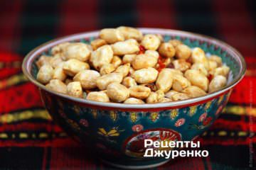 Фото рецепта жареный арахис