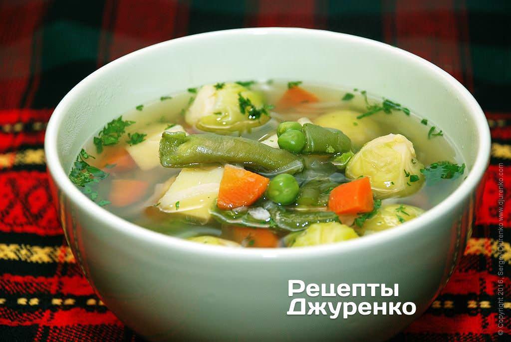 рецепт овощного суп