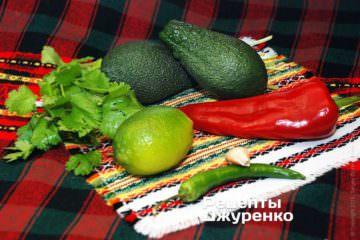 Авокадо и лайм