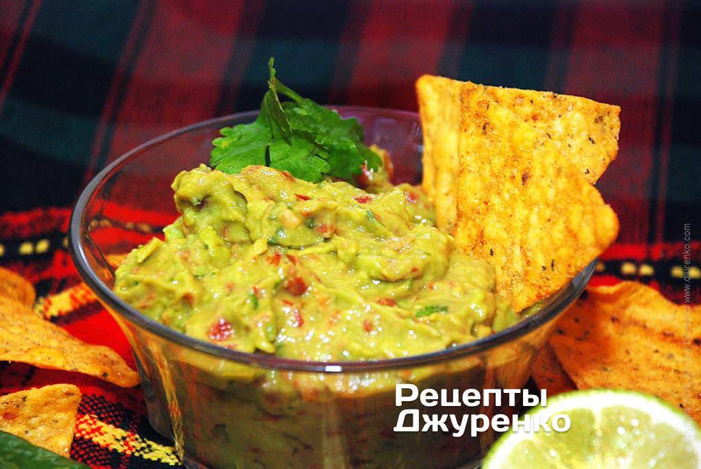 соус з авокадо фото рецепту