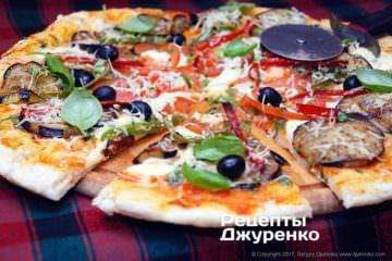 разрезать пиццу на части