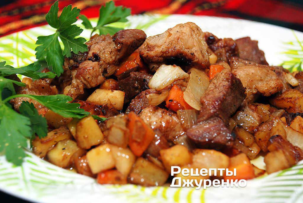 Свинина на сковороде  рецепты с фото на Поварру 221