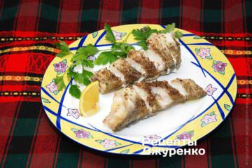 Фото до рецепту: риба приготована на пару