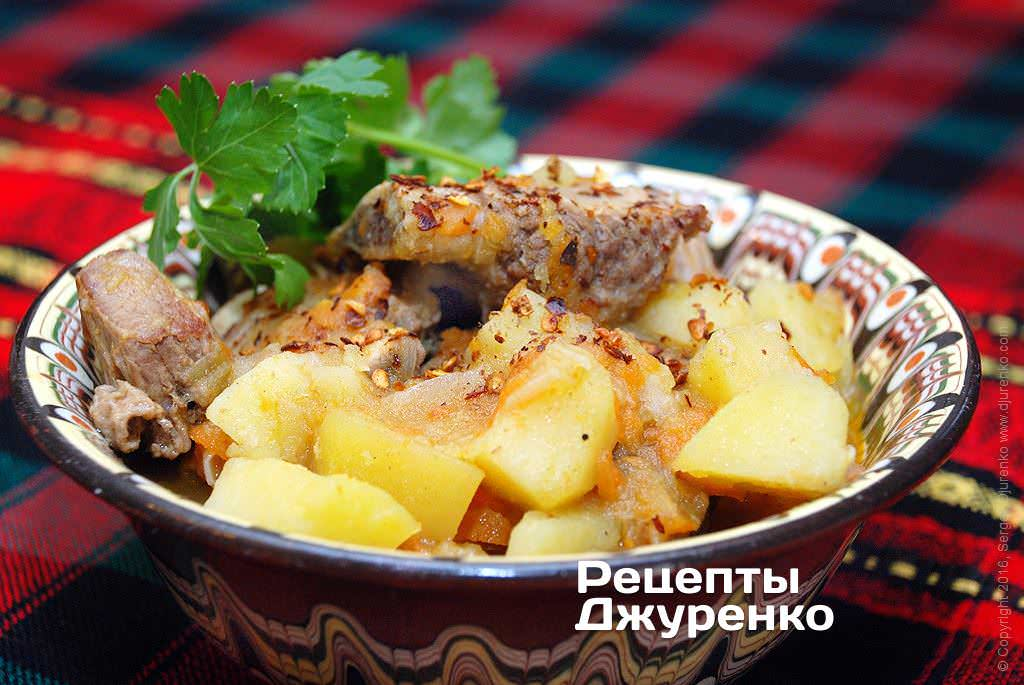 картошка с ребрами фото рецепта