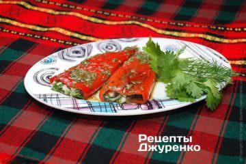 Фото рецепта маринованный болгарский перец